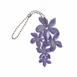 Glimmis reflexní přívěsek lilie fialová