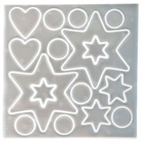SeeME reflexní nálepky hvězdy