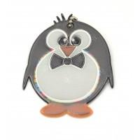 Glimmis reflexní přívěsek tučňák černobílý