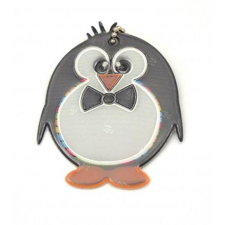 Reflexní přívěsek tučňák