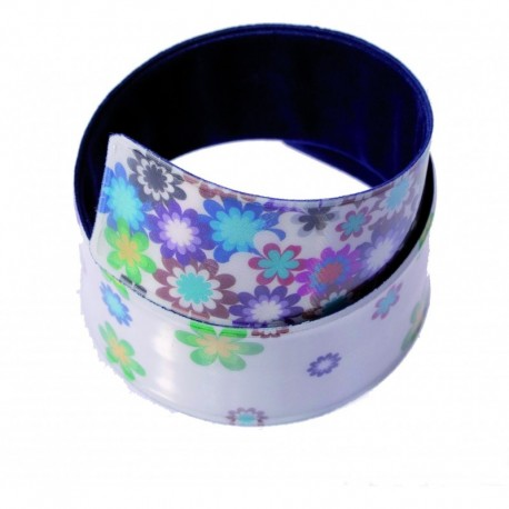 Reflexní páska květiny