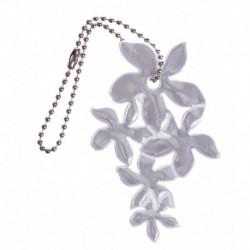 Glimmis reflexní přívěsek lilie bílá
