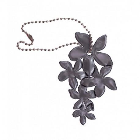 Reflexní přívěsek lilie černá