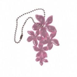 Glimmis reflexní přívěsek lilie růžová
