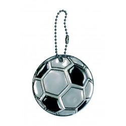 Glimmis reflexní přívěsek fotbalový míč černý