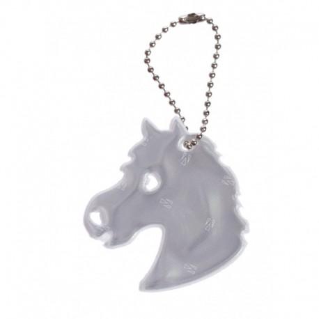 Glimmis reflexní přívěsek kůň bílý