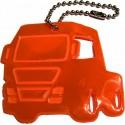 Glimmis reflexní přívěsek nákladní auto oranžové