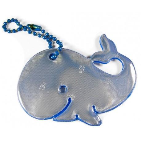 Glimmis reflexní přívěsek velryba modrá
