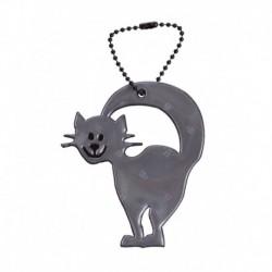 Glimmis reflexní přívěsek kočička černá