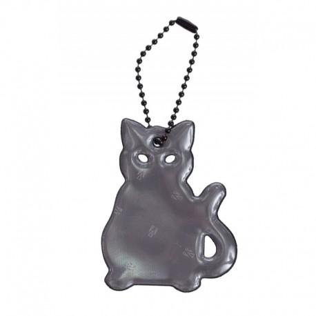 Glimmis reflexní přívěsek kočka černá