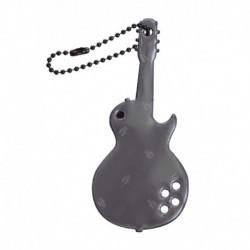 Glimmis reflexní přívěsek kytara černá