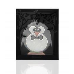 Glimmis reflexní přívěsek tučňák