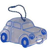 Reflexní přívěsek Glimmis auto modré